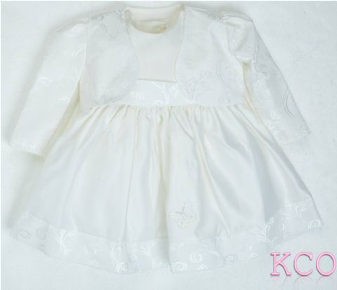 Bolero Jacket & Dress Ivory ~ Girls dress